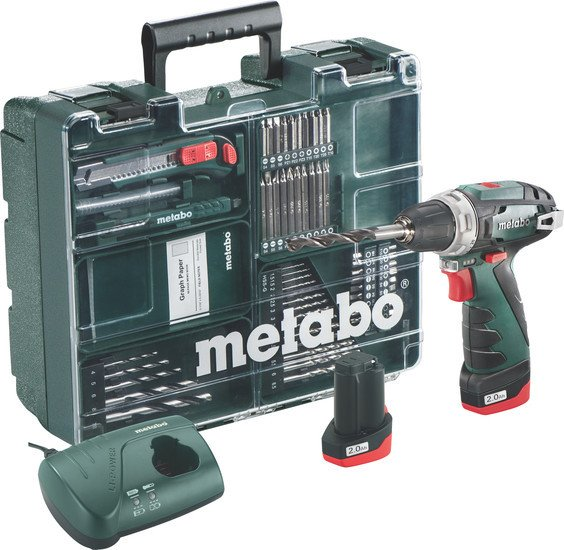 Шуруповерт Metabo PowerMaxx BS Basic Set...